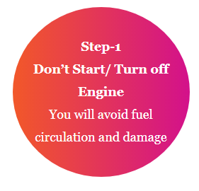 dont start engine step1